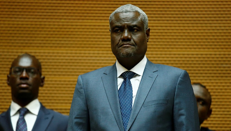 African Union Commission Chairman, Chadian Foreign Minister Moussa Faki Mahamat. File photo.