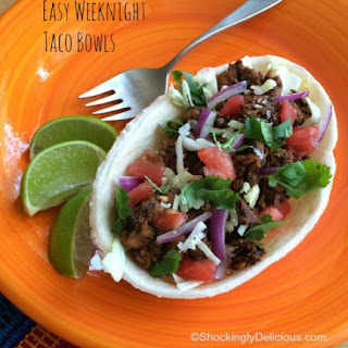 Easy Weeknight Taco Bowls