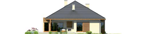 Margaret G2 Leca® Dom - Elewacja tylna
