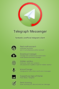 Telegraph Messenger T4 9 1 - P6 9 5 + (AdFree) APK for Android