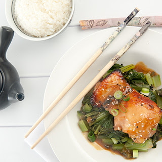 Miso Glazed Chicken -Lite and Easy