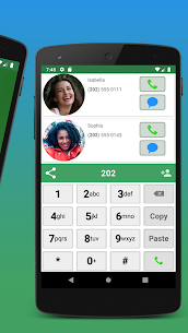 Contacts, Dialer and Phone by Facetocall 3