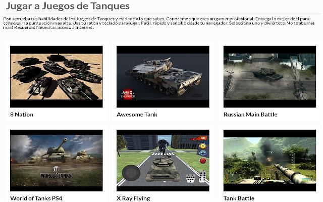 Juegos de Tanques | AppBack.pw