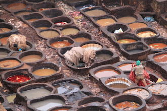 Photo: Tanneries of Fes