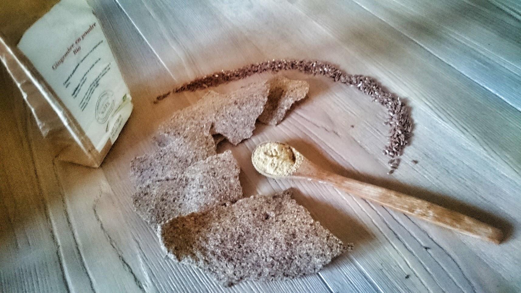 crackers bio graines de lin gingembre il était une noix