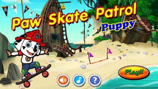 Paw Skate Puppy Patrol Run