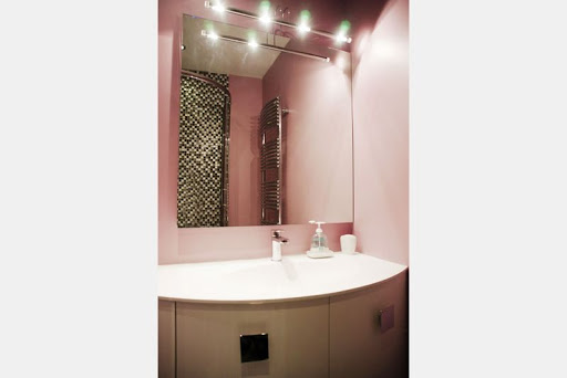 Main bathroom at 2 Bedroom Apartment in Louvre Near Seine