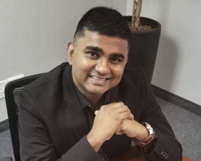 Greg Naidoo, Head of Talent Acquisition at Inspired Testing