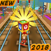Super Subway Surf Run Way 3D 2018 icon