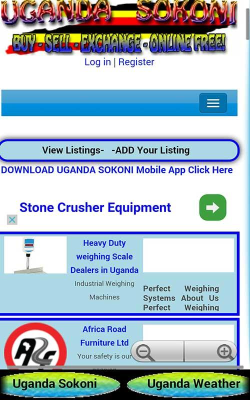 UGANDA NEWS ONLINE- screenshot