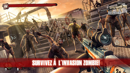 Zombie Frontier 3: Jeu de Tir  captures d'u00e9cran 17
