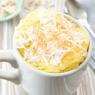 Paleo Coconut Mug Cake.