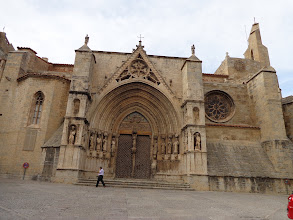 Photo: Great Gothic south porch, Morella Basilica