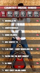 Country rozhlasových stanic - náhled