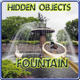 Hidden Objects - The Fountain