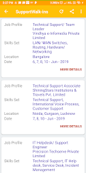 Daily Walkins - IT jobs for developers & freshers APK screenshot thumbnail 6