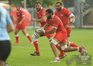 Photo: IRB Tbilisi Cup 2013. Georgian Lelos vs Uruguay. Photos by Tamuna Kulumbegashvili