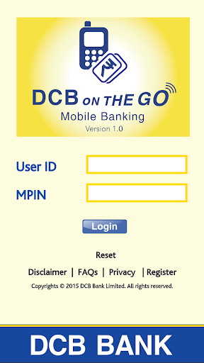 DCB Bank Mobile Banking App for PC