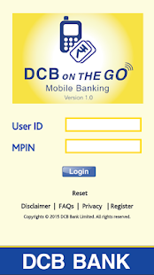 DCB Bank Mobile Banking App- screenshot thumbnail