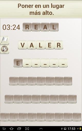 PALABRAS - Juego de Palabras en Espau00f1ol 1.17 screenshots 9