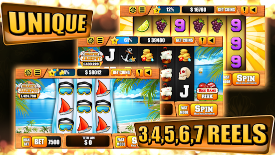 Paradise Ship Slot Machine - náhled