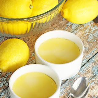 Instant Pot Lemon Custard Cups.