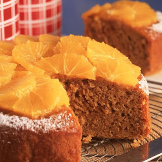 Carrot and Orange Cake.