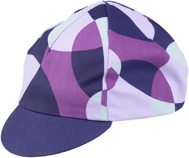 All-City Dot Game Cycling Cap - Dark Purple, One Size alternate image 2