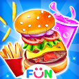 Kids Food Party - Burger Maker Food Games