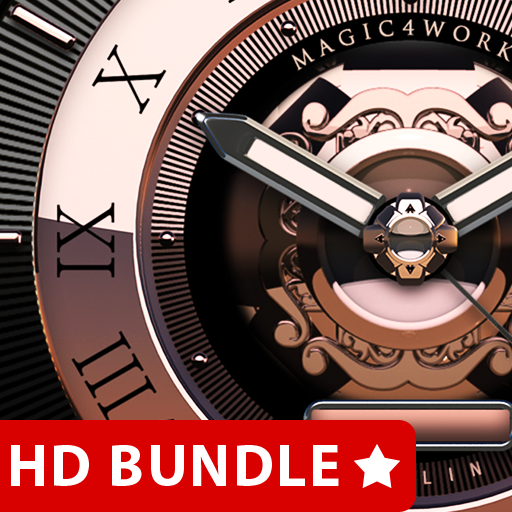 HD Analog Clock Bundle LWP 3