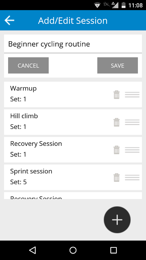 Cycling Workout- screenshot