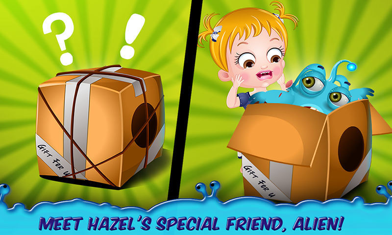 Baby Hazel Alien Friend- screenshot
