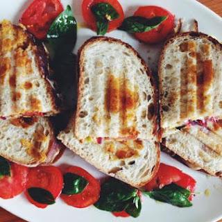 Zucchini & Asiago Cheese Panini