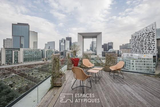Appartement a vendre nanterre - 5 pièce(s) - 100 m2 - Surfyn