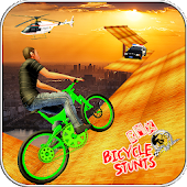 BMX Cycle Stunt Race: MTB Downhill Bicycle Game