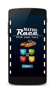 Maths Race- screenshot thumbnail