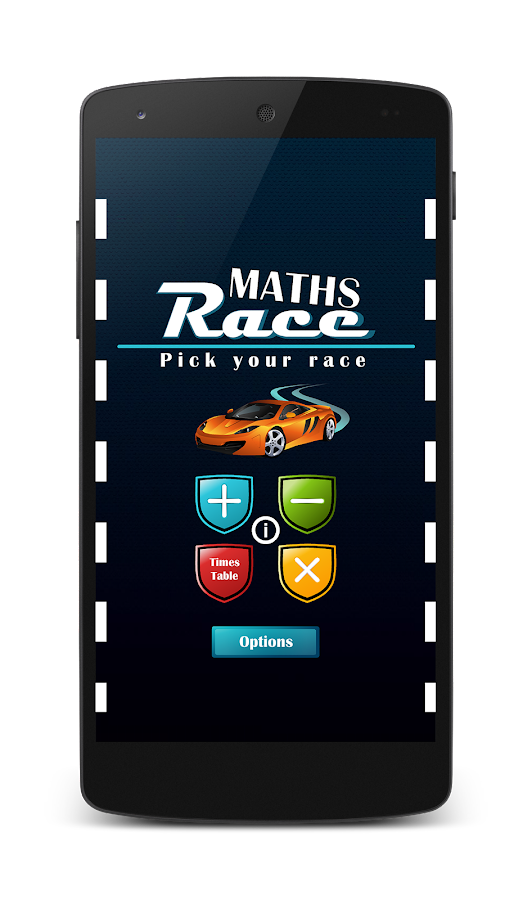 Maths Race- screenshot