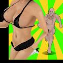Jungle Girls Run - No Sex game icon