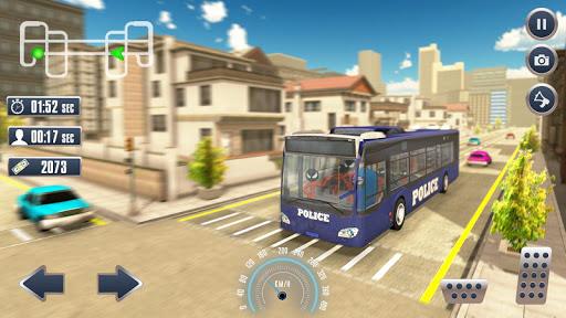 Prison Stickman Transport Police Van ss3