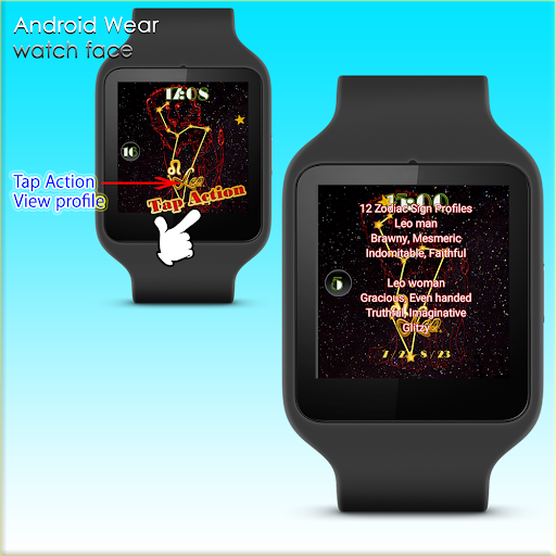 12 Zodiac sign Leo WatchFace
