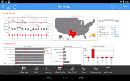 InetSoft Mobile Version 12.1 1.0.3 screenshots 5