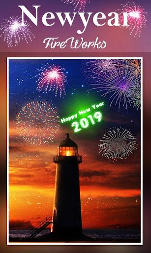 2019 New Year Fireworks Live Wallpaper 1.0.10 screenshots 5