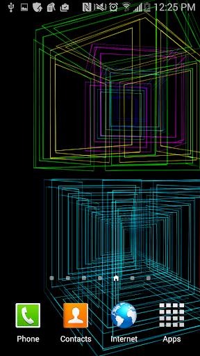 Cube Matrix 2 Live Wallpaper
