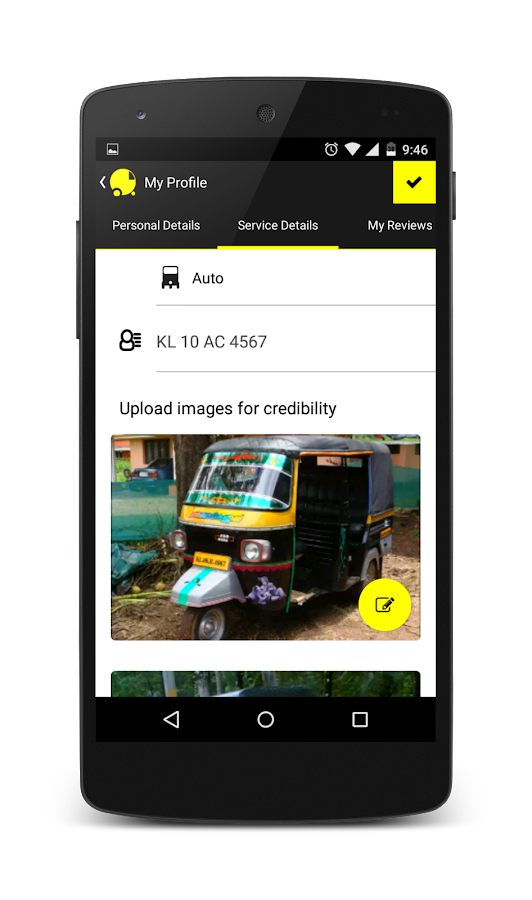 Hey Auto - Find Kozhikode Auto- screenshot