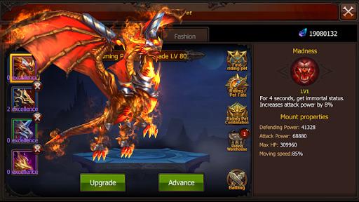 Mu Origin Invictus - New MMORPG Mounts screenshots 6