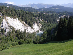 Photo: Kaňón Rýnu nad Ilanz