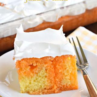 Lemon Orange JELL-O Cake.