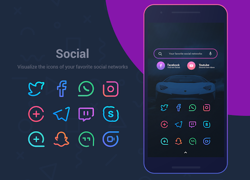 Linebit - Icon Pack  screenshots 5