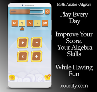 Math Puzzles - Algebra Game, Mathematic Arithmetic - náhled