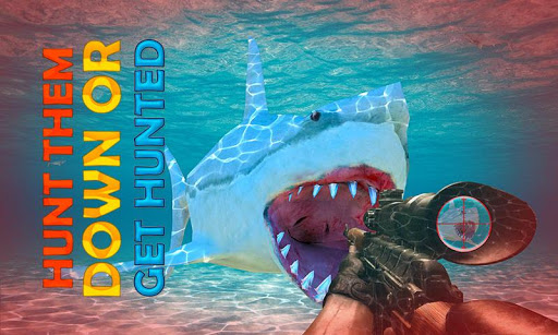 Killer Shark Hunter Simulator